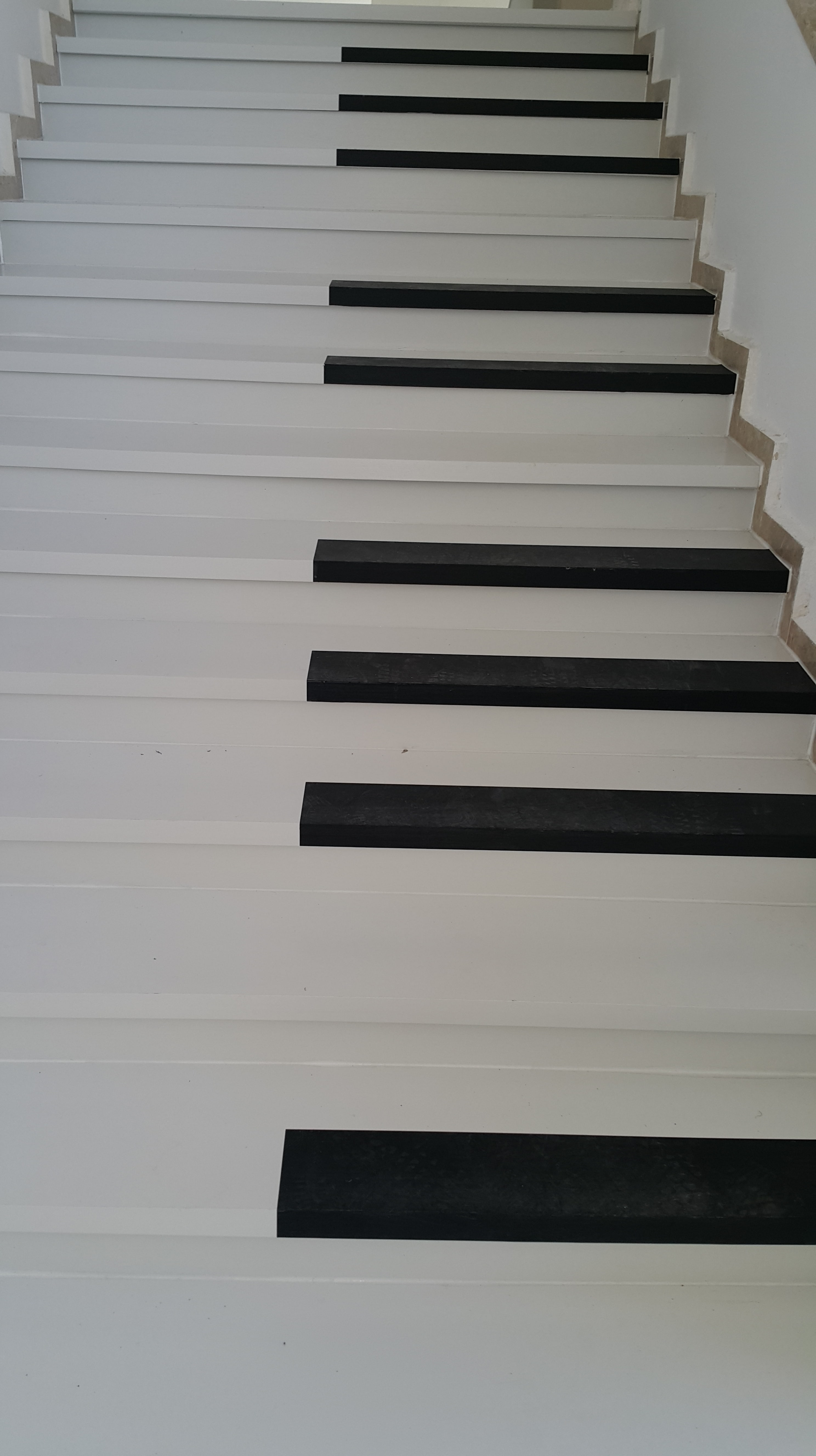 Piano staircase in Ankara University